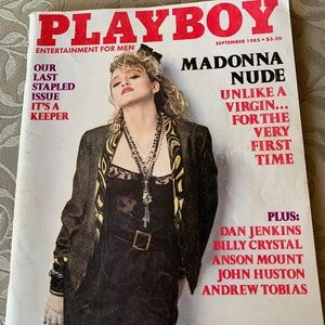 Other - 💥Playboy, Sept 1985, with young Madonna! EUC!